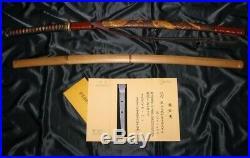 17th C. KATANA OYA KUNISADA NBTHK TOKUBETSU-HOZON Japanese Samurai Sword Tsuba