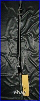 30 SHINSHINTO KATANA SIGNED + HIGO MOUNT + NTHK Japanese Samurai Sword Tsuba