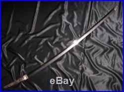 34 GENDAITO KATANA by SAKAI IKKANSAI SHIGEMASA Japanese Samurai sword Tsuba