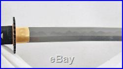 55 Nodachi Japanese Sword Combined Material 1095 Steel+Folded Steel Iron Tsuba