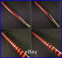 Antique Japanese KOSHIRAE Tanto Mantis Suzumushi Tsuba Saya Katana Sword Edo ear