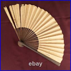 D1309 Japanese Edo Samurai TENARASHI TESSEN IRON FAN katana Hidden weapon