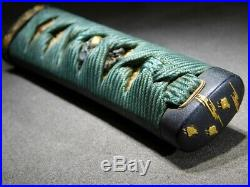 FINE Fittings TSUKA for TANTO 18-19thC Japanese Edo Antique Tsuba Koshirae
