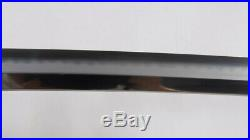 Hinoken (Fire Sword) Clay Tempered Katana T10 Steel Hazuya Polish Iron Tsuba