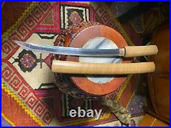 Japanese Antique Katana Samurai Short Sword 31.6cm