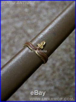 Japanese Military knife WW2 wakizashi Koshirae tsuba Busho samurai sword katana
