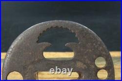 Japanese old Iron Tsuba openwork Edo period STO55