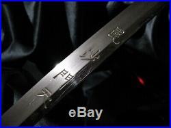 KOTO TACHI ca. 1500 + DRAGON HORIMONO & DRAGON MOUNT Japanese sword Katana Tsuba
