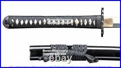 Musashi Brand Hand Forged Dragon Katana with 1045 & 1095 Folded Steel Iron Tsuba
