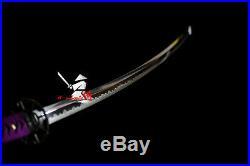 New Sale Clay Tempered Full Tang Blade Japanese Nodachi Katana Sword Iron Tsuba