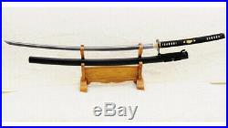 No-Dachi Odachi 1095 Carbon Steel Japanese Long Sword Iron Tsuba Full Tang Sharp