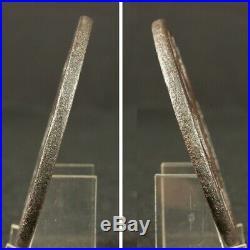Openwork TSUBA Samurai Sword Guard Japanese Katana Blade Antique