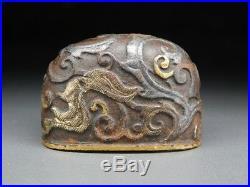Rare HIGO-School KOJIRI 18-19thC Japanese Edo Antique for Koshirae