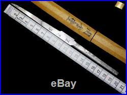 SIGNED KOGATANA Sword Full-polished in Shirasaya Japanese Original Edo Antique
