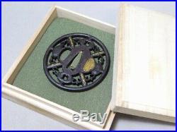 SUPERB Fine Openwork TSUBA 18-19thC Japanese Edo Original Antique Koshirae