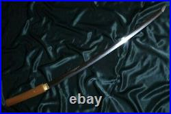 SUPERB KAGA KATANA ca. 1600'S + HORIMONO + FULL POLISH Japanese Sword Tsuba