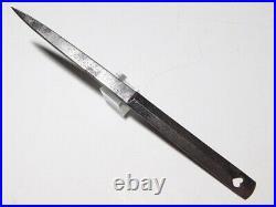 SUPERB Polished BASHIN KANKYUTO China Poetry Japanese Original Edo Sword Antique