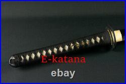 Spring Steel SAKABATO Sharp Blade Iron Mushashi Tsuba Japanese Katana Sword