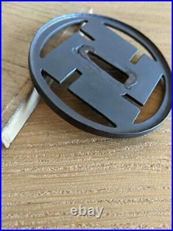 Tsuba Edo Manji Swastika for Japanese sword katana wakizashi tanto