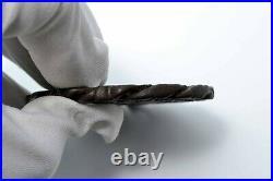 Tsuba antique Japanese Samurai sword guard Iron Mumei thousandheaded dragon Edo