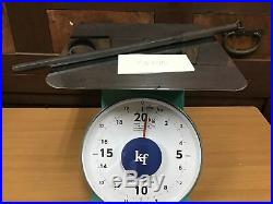 Y0275 JITTE Edo Japanese traditional iron tool samurai katana tsuba yoroi