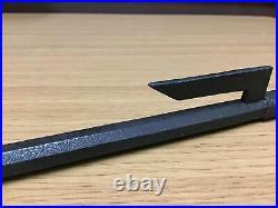 Y0275 JITTE Edo Japanese traditional iron weapon samurai katana tsuba yoroi