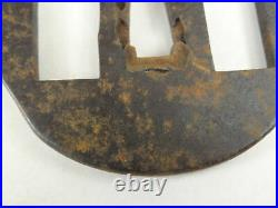 YI493 TSUBA Samurai Sword guard Japanese Katana Blade Geijyutu antique Art
